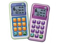 LeapFrog Chat & Count Cell Phone- Sing along to songs about counting, explore more than 15 phone activities, and more!