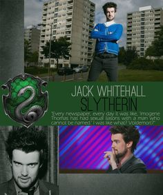 Jack Whitehall and He who must not be named