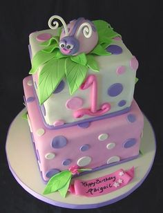 the cake fairy | birthday cakes; lady bug cake, fairy princess cake; fancy nancy cake ...