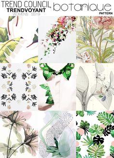 SS19 botanique pattern