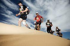 Marathon quer durch die Wüste!