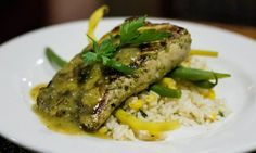 Delicious Herb Marinated Grilled Yellowtail recipe is up! You're definitely going to want to try this one! Tuna Recipes, Grilling Recipes, Dinner Recipes, Cooking Recipes, Healthy Recipes, Healthy Meals, Healthy Food, How To Cook Kale, How To Cook Asparagus