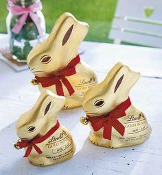 Gold bunny Lindt