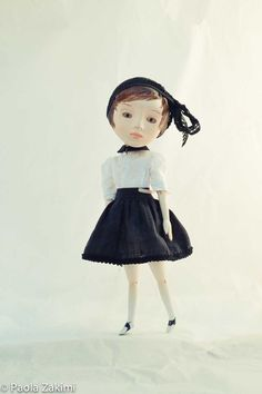 Art Doll Anna  Art doll by Paola Zakimi by holli on Etsy