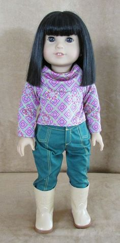 Ivy American Girl Doll Julie's Best Friend Meet clothing complete Ling Asian #DollswithClothingAccessories