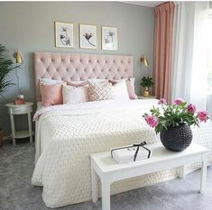 A colorful modern space for a stylish couple البيت in 2019 bedroom decor, c Diy Home Decor Bedroom, Room Ideas Bedroom, Cozy Bedroom, Simple Bedroom Design, Cute Room Decor, Aesthetic Bedroom, Stylish Couple, Decorative Items, Decorating Ideas