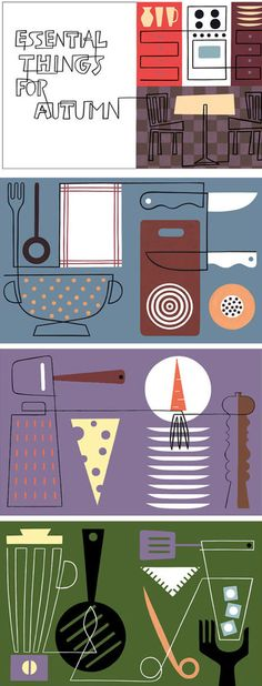 Essential Things for Autumn by Laura Ljungkvist