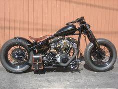 Bobber Inspiration | Shovelhead bobber | Bobbers and Custom Motorcycles