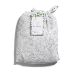 MUSLIN SWADDLE BLANKET– Garden Print