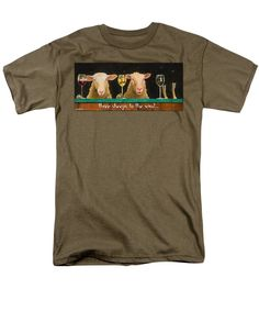 Purchase an adult t-shirt featuring the image of Three Sheeps To The Wind... by Will Bullas.  Available in sizes S - 4XL.  Each t-shirt is printed on-demand, ships within 1 - 2 business days, and comes with a 30-day money-back guarantee.