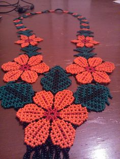Beaded Earrings Patterns, Beading Patterns, Beaded Flowers, Seed Beads, Crochet Necklace, Art Gallery, Diy, Jewelry, Seed Bead Bracelets