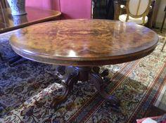TAB 027 Walnut Loo Table | Plantation Antique Galleries U2014 604 Bel Air Blvd.