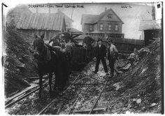 Coal train leaving mine, Scranton, Pa. April 12th, 1912