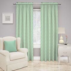 Traditions by Waverly Strands Curtain (€25) ❤ liked on Polyvore featuring home, home decor, window treatments, curtains, room, blue, waverly curtains, round window treatments, waverly window treatments and round window covering