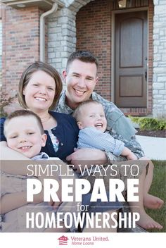 Homeownership is part of the American Dream, but it isn't always easy for military families to achieve. 6 tips to get you ready to own a home.