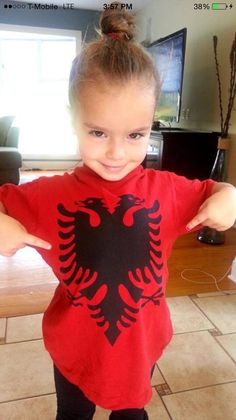 Little Albanian girl ''The children of Albania'' World Thinking Day, Embroidery Dress, Girl Scouts, Kids And Parenting, Most Beautiful, Children, People, Fashion Tips, Baby