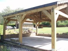 carport ideas | Contact-Pologne - Carports, garages et abris de jardin en bois ...