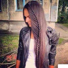 Peinado trenza de lado