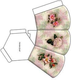 printable dollhouse - j stam - Picasa Web Album Printable Box, Printables, Cardboard Crafts, Paper Crafts, Paper Box Template, Paper Purse, Pretty Box, Diy Box, Paper Models