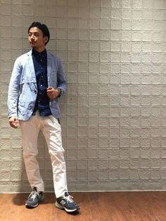 RYO-matsu│JUNRedのシャツ・ブラウスコーディネート