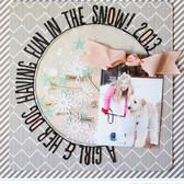 Front Row Scrapbook Layouts by Nicole Samuels | Scrapbooking Kits, Paper & Supplies, Ideas & More at StudioCalico.com!