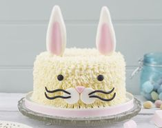 Hobbycraft shows us how to make this Easter bunny cake - it's almost too cute to eat!