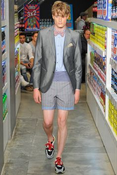 Moschino Spring 2013 Menswear Fashion Show Collection