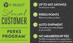 ItWorks because I work it!