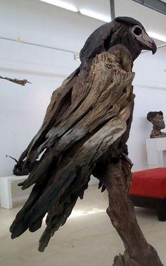 Bateleur Eagle openskywoodart.com