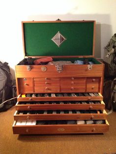Toy Chests for Boys | Share. Now this is a big boy toy chest. What a very nice piece and handmade.