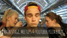 Mainstage, Meetups & Youtuber Pizza Parties - Playlist Day 5 ♡
