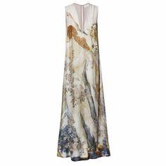 Robe longue imprimés, H&M Conscious