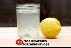Top 10 Natural Weight Loss Remedies