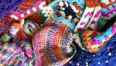 https://flic.kr/p/mERnUi   Crochet and Knitting Colourful Creative Stitching Designs By Sharron Wilcock