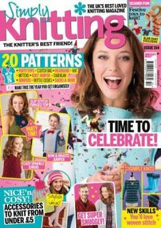 Simply Knitting Issue 154 December 2016