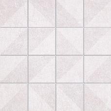 Mosaic Geometric Trace White (7x7)