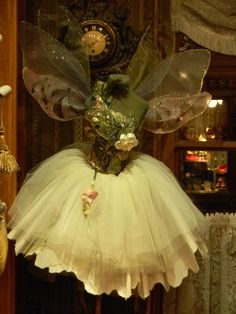 Fairy Dress HANGING IN THE CLOSET