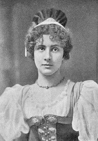 "Alfred Ellis photo of Florence Perry as Lisa in the original 1896 production of ""The Grand Duke"" at the Savoy Theatre. Savoy Theatre, Grand Duke, The Originals, American, People, Florence, Vintage Photos, Lisa, Women"