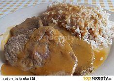 Hovězí roštěná podle prababičky Anežky recept - TopRecepty.cz Baked Potato, Ham, Pork, Potatoes, Beef, Chicken, Baking, Ethnic Recipes, Arizona