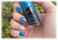 Las uñas de Julia: Nails Art Chevron / Colaboración Flormar
