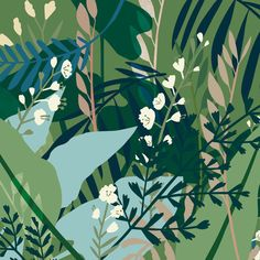 wedding invitation - GREENHOUSE prints & illustrations by Lotte Dirks