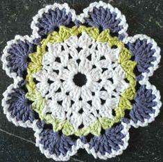 Best Free Crochet » #294 Southwestern Crochet Dishcloth – Maggie Weldon Maggies Crochet