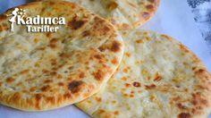 Haçapuri Tarifi (Peynirli Gürcü Pidesi) | Kadınca Tarifler | Kolay ve Nefis Yemek Tarifleri Sitesi - Oktay Usta Food And Drink, Pizza, Salsa, Cheese, Ethnic Recipes, Bakken, Salsa Music
