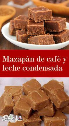 postre de cafe con leche | CocinaDelirante Bakery Recipes, Kitchen Recipes, Dessert Recipes, Cooking Recipes, Desserts, Cupcake Wars, Frappe, Chocolate, Light Recipes
