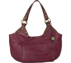 THE SAK Indio Satchel - Bordeaux - Free Shipping & Return Shipping - Shoebuy.com