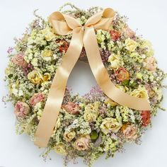 dodatki - dekoracje - wianki-Wianek różany vintage