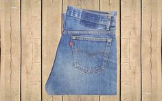 Vintage Levis 501 Jeans USA Made 1990s Straight Leg Faded Blue Denim Button Fly Red Tab Measure as W33 L31.5 by BlackcatsvintageUK on Etsy
