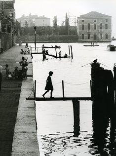 Willy Ronis Venise, Fondamenta Nueva, 1959