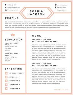 Professional Business Resume Template By Originalresumedesign