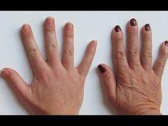 Rejuvenece tus manos 10 años menos con este truco fácil y barato. - YouTube